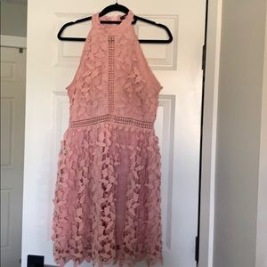 Ladies Shein cut out dress sz. Large